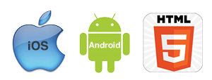 apple-android-html5-logo