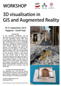 Workshop 2014_3D Visualisation in GIS and Augmented Reality